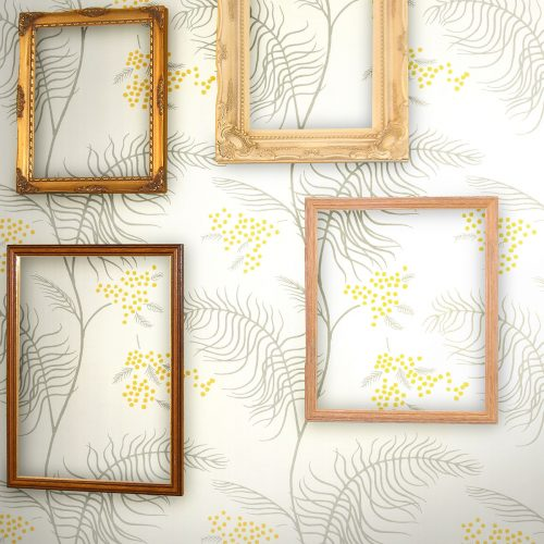 Cole & Son | Contemporary | Mimosa | Wandbekleding | JOXAL | Jolanda Maurix | Gordijnen | Shutters | Interieuradvies | Wooninspiratie