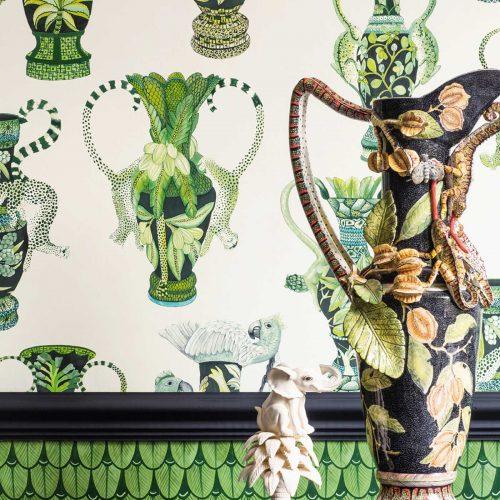 Cole & Son | Khulu | Vases | Wandbekleding | JOXAL | Jolanda Maurix | Gordijnen | Shutters | Interieuradvies 4