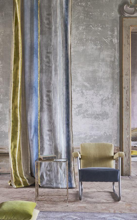 Chareau De nieuwe Designers Guild Collectie | Fabric Collection | Meubelstoffen | Jolanda Maurix | Gordijnen | wooninspiratie | shutters | Raamdecoratie | Wandbekleding