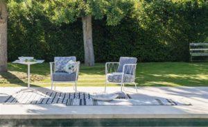 Palme Botanique Outdoor Fabrics   buitenstof van Designers Guild   loungeset bekleden   stoffen voor buitenset   stof voor loungeset   buitenmeubel   buitenkussens