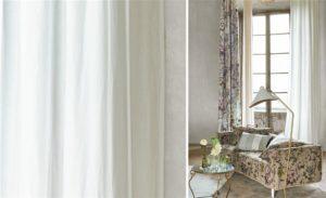 Inbetween gordijnstof   linnen gordijnen op maat laten maken   stijlvolle linnen gordijnen   linnen hoge kwaliteit