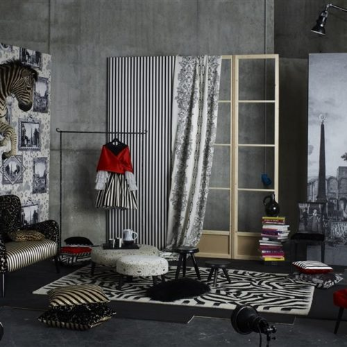 Christian Lacroix collectie Joxal interieur interieurstoffen behang wallpaper Arles Fabrics