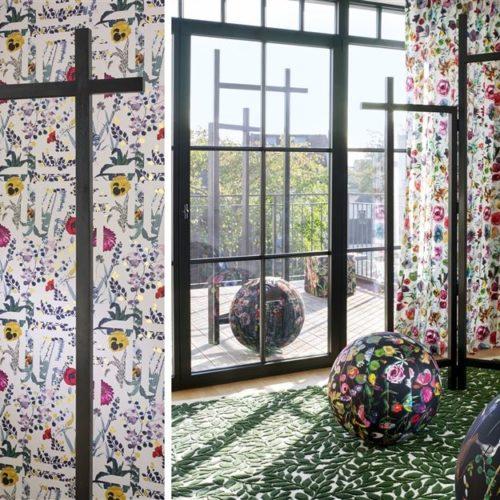 Christian Lacroix collectie Joxal interieur interieurstoffen behang wallpaper Histoires Naturelles 2