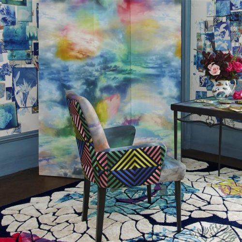 Christian Lacroix collectie Joxal interieur interieurstoffen behang wallpaper Incroyables et Meirvelleuses Fabrics