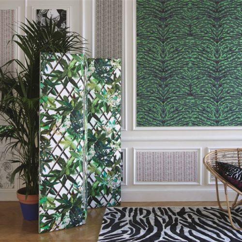 Christian Lacroix collectie Joxal interieur interieurstoffen behang wallpaper Nouveaux Mondes