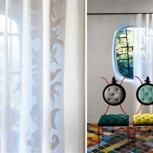 Christian Lacroix collectie Joxal interieur interieurstoffen behang wallpaper Paradis Barbaris Fabrics