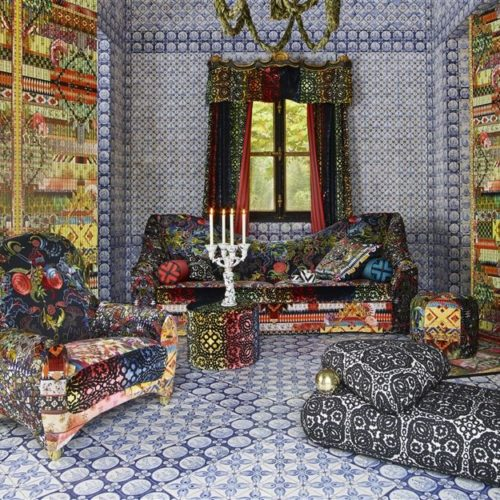 Christian Lacroix collectie Joxal interieur interieurstoffen behang wallpaper au theatre ce soir