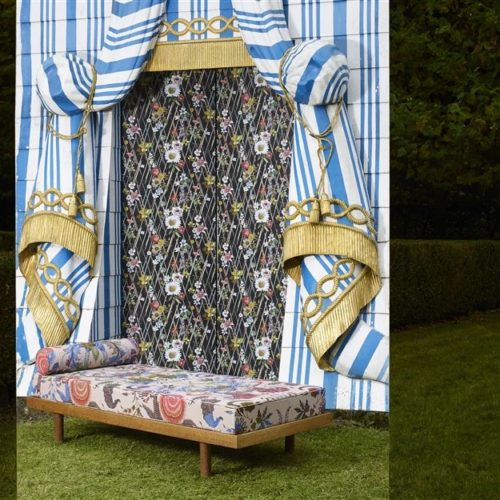 Christian Lacroix collectie Joxal interieur interieurstoffen behang wallpaper au theatre ce soir Fabrics